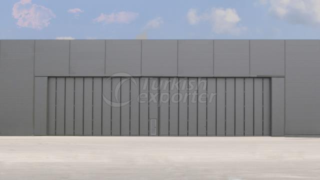 Side Folding Hangar Door