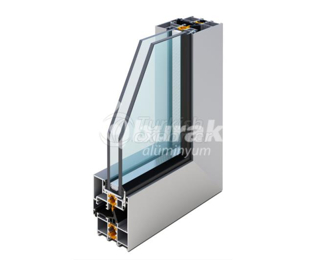 Systèmes de portes et fenêtres BM-60