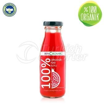 100% Organic Pomegranate Juice