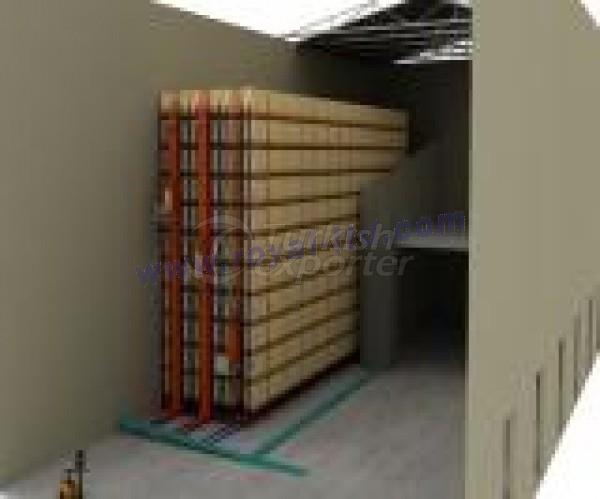 Automatic Warehouse Shelving Systems