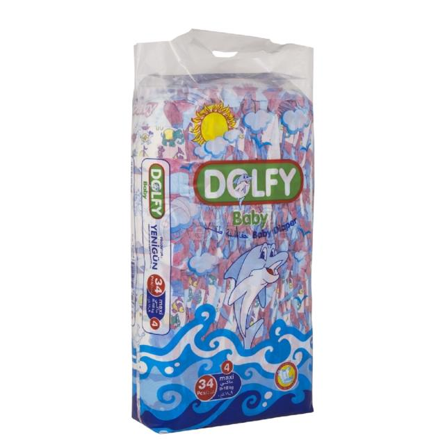 Baby Diapers Maxi 34 pcs
