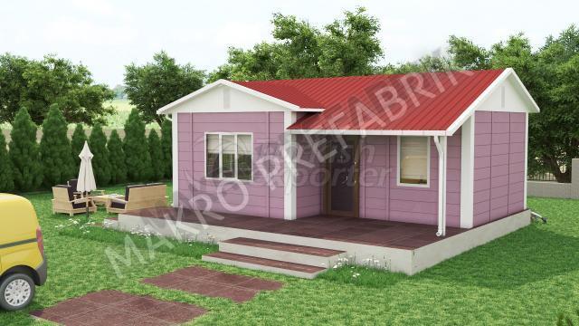 Префабричный дом 40 m²