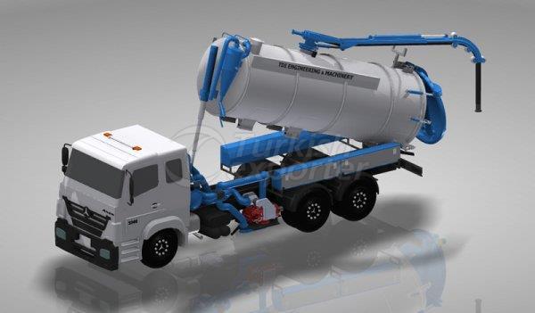 Caminhão de sucção de esgoto VB Series