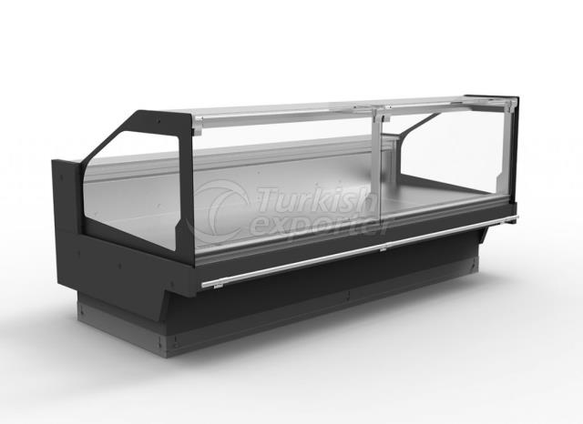 Serve-Over Counter Flat Glass TIGER FG