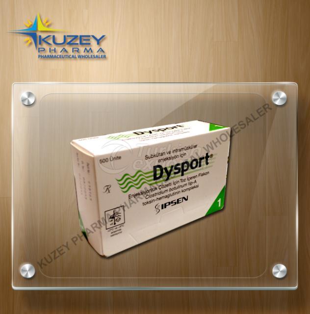 DYSPORT 500 IU 3ML 1 VIAL