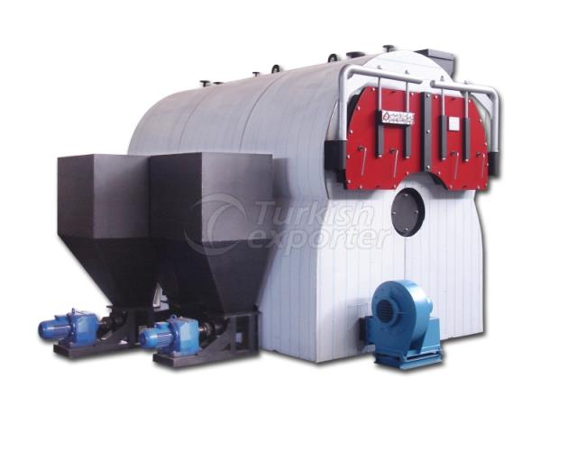 Solid Fuel Fired Steam Boilers - AKUP Type