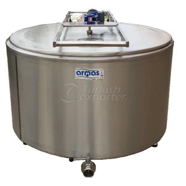 750 Liter Milk Cooling Tank