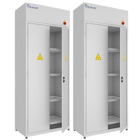 ILDAM Chemical Storage Cabinet with Fan & without Fan