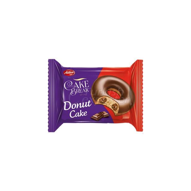Cake Break Cacao Coated Donut Cake With Cacao Cream