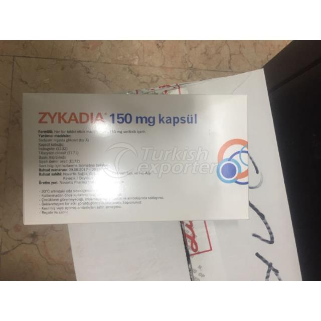 ZYKADIA 150 MG 150 КАПСУЛЬ