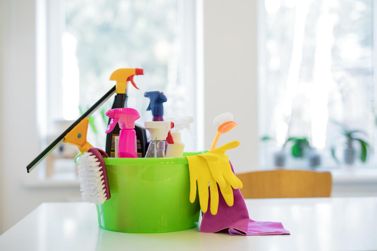 منتجات التنظيف والنظافة