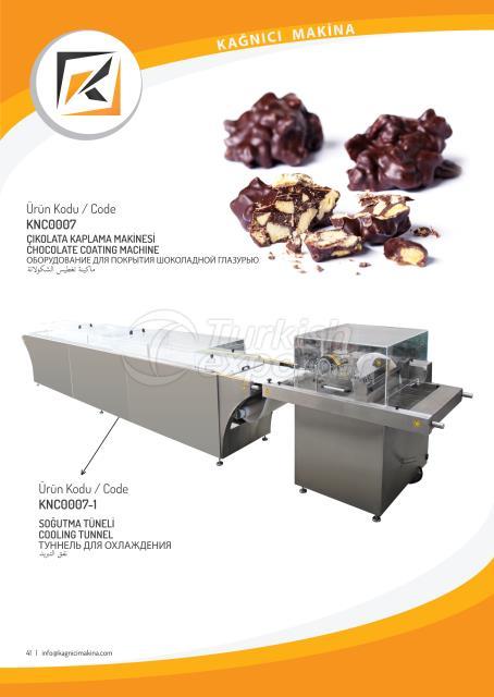 آلة طلاء الشوكولاتة