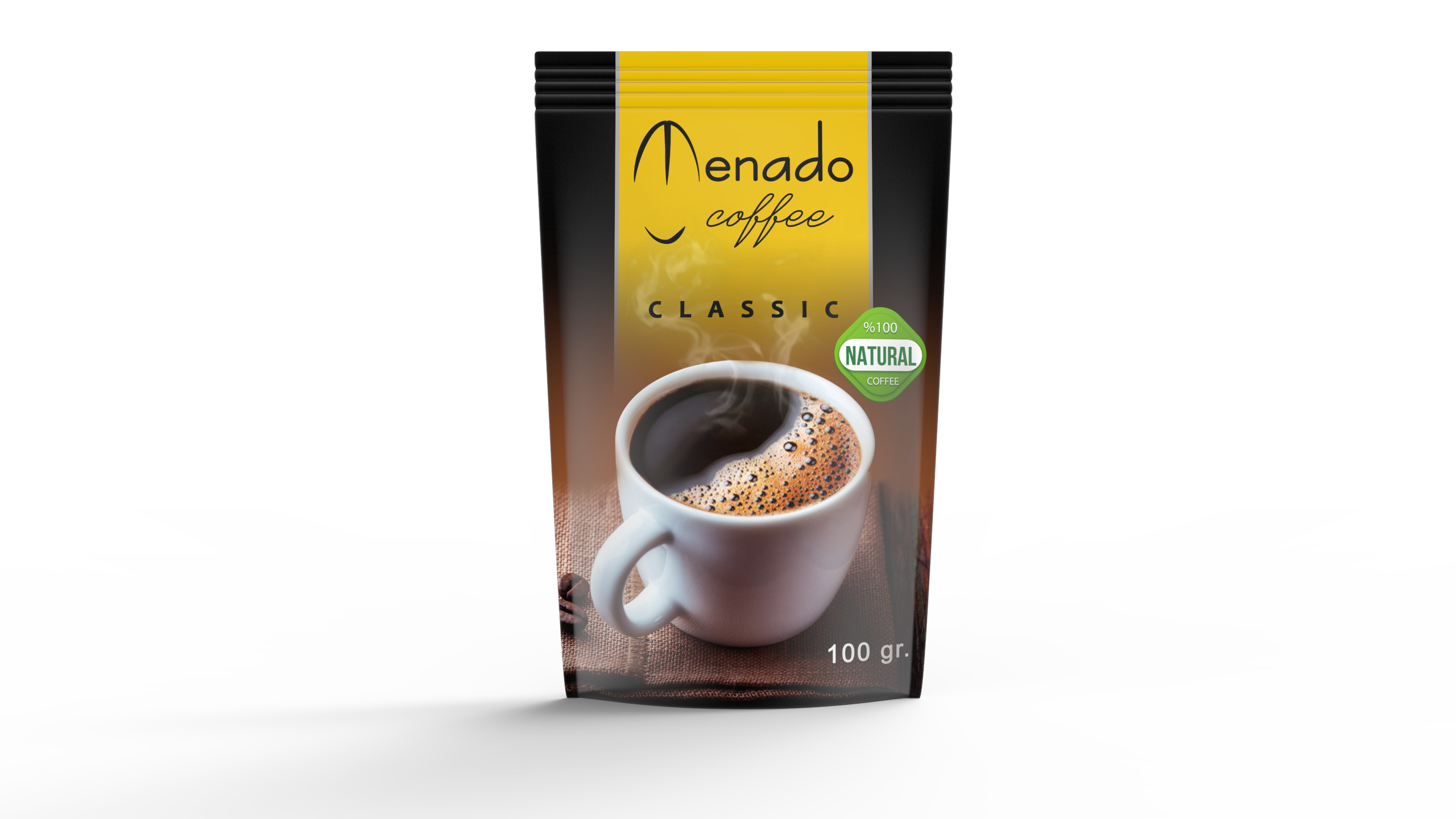 Menado – Quick Coffee Classic - 100gr.