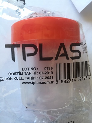 Sterile Urine Sample Cup