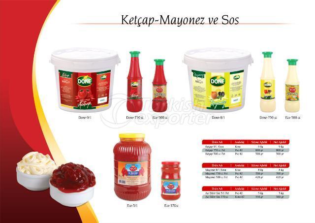 Kethcup and Mayonnaise