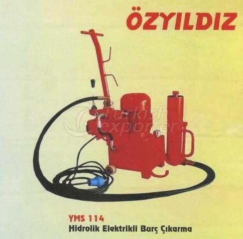 Hydraulic Electrical Bush Mounting YMS 114