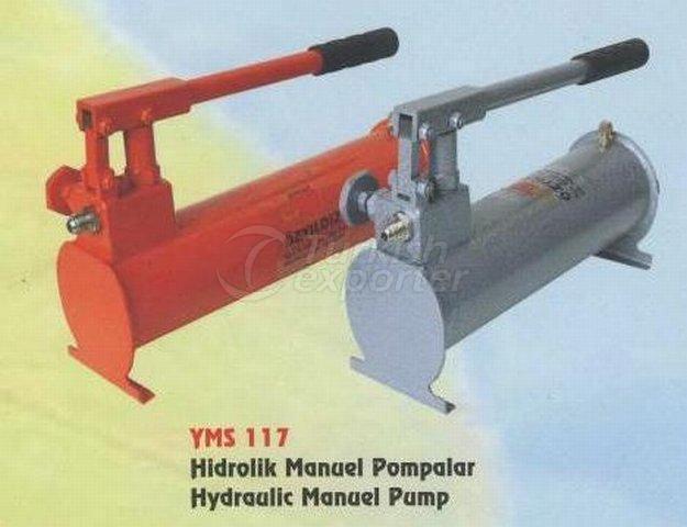 гидравлические мануэль  насос YMS 117