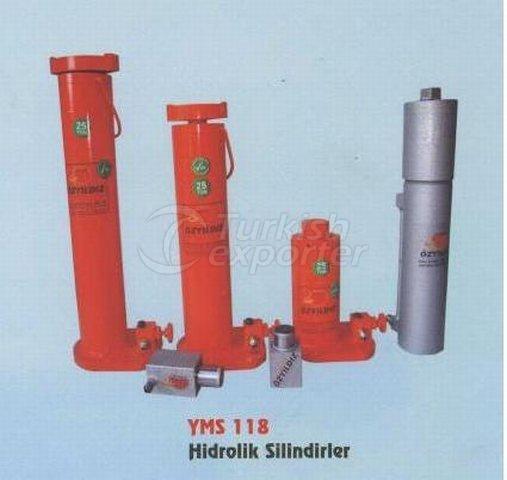 гидравлический  цилиндр YMS 118