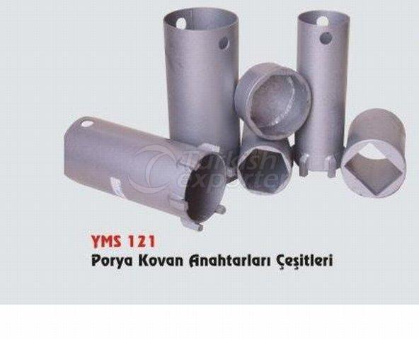Porya Kovan Anahtarları Çeşitleri YMS 121