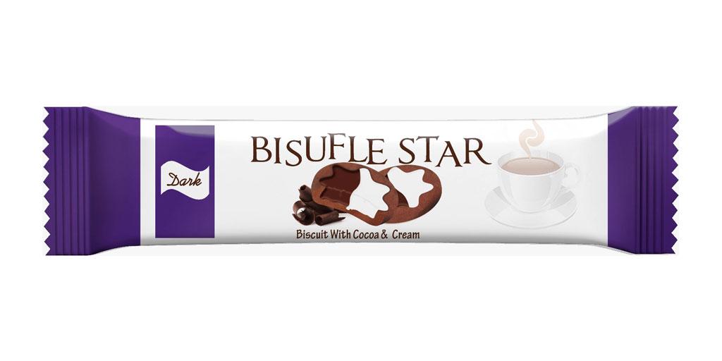 Star Shape Dark Cookies