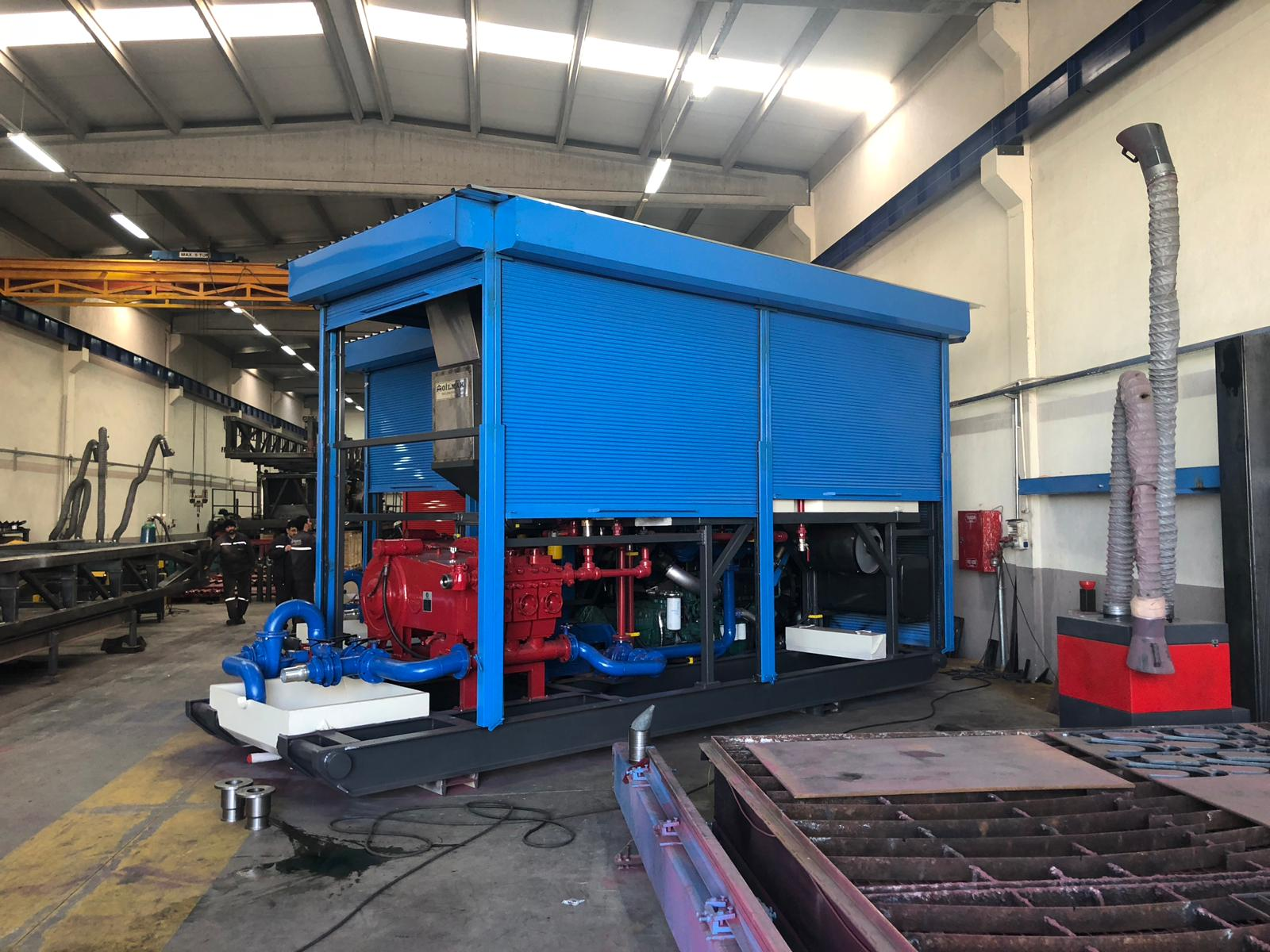 Cementing Unit and Batch Mixer