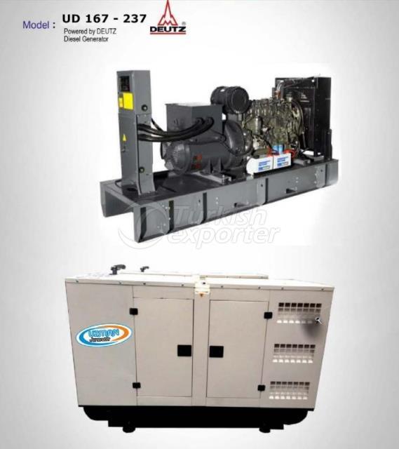 Diesel Generator - UD 167 - 237