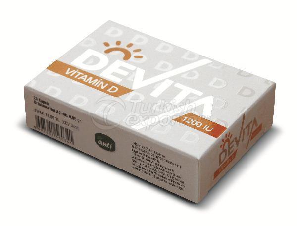 Devita Vitamin D 1200 IU