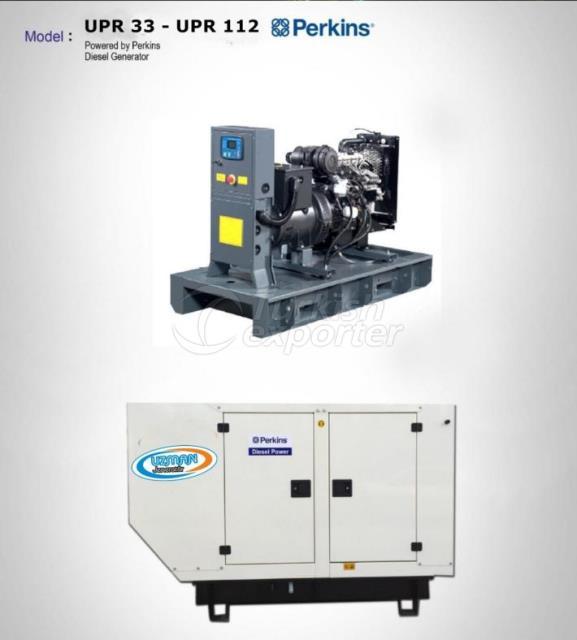 Diesel Generator - UPR 33 - UPR 112