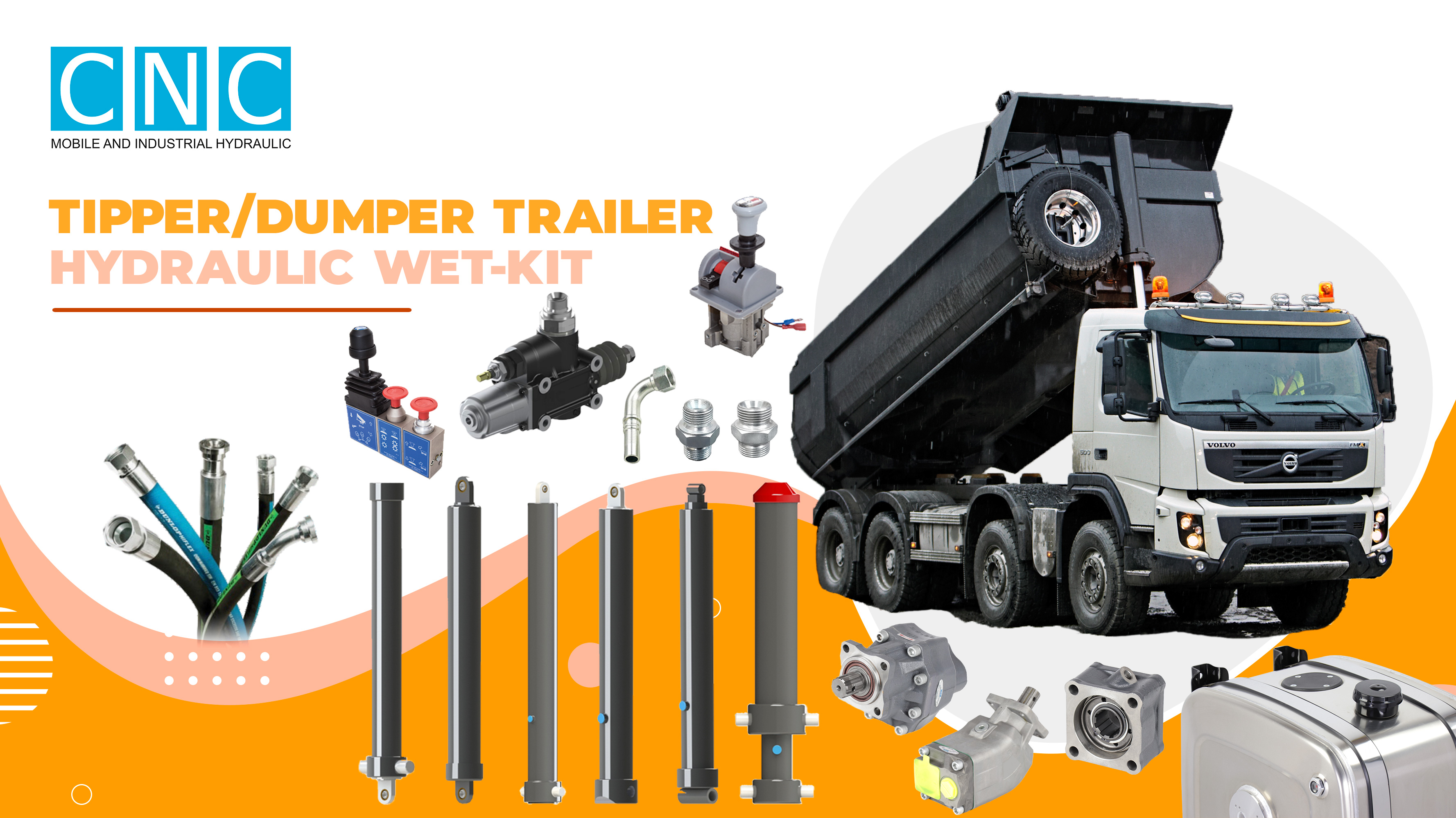 Hydraulic Kit For Tipper