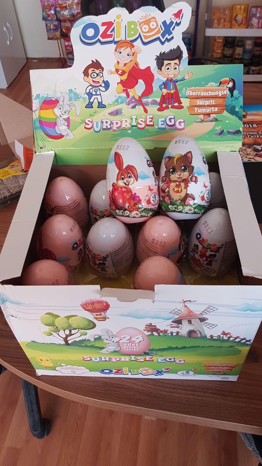 Suprise egg chocolate