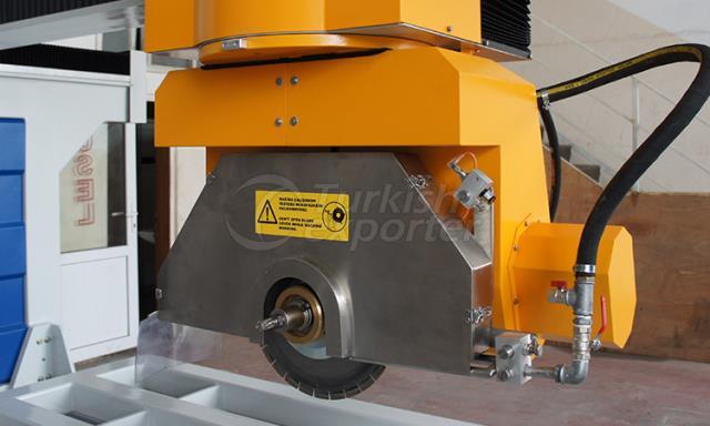 CNC MONOBLOCK BRIDGE SAW MACHINE (5 Axis)