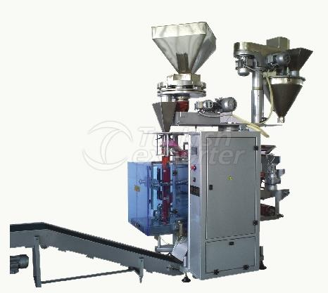 Dual-System Volumetric And Threaded Packaging Machine