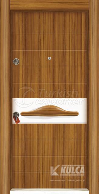 D-2011 ( PVC STEEL DOOR )