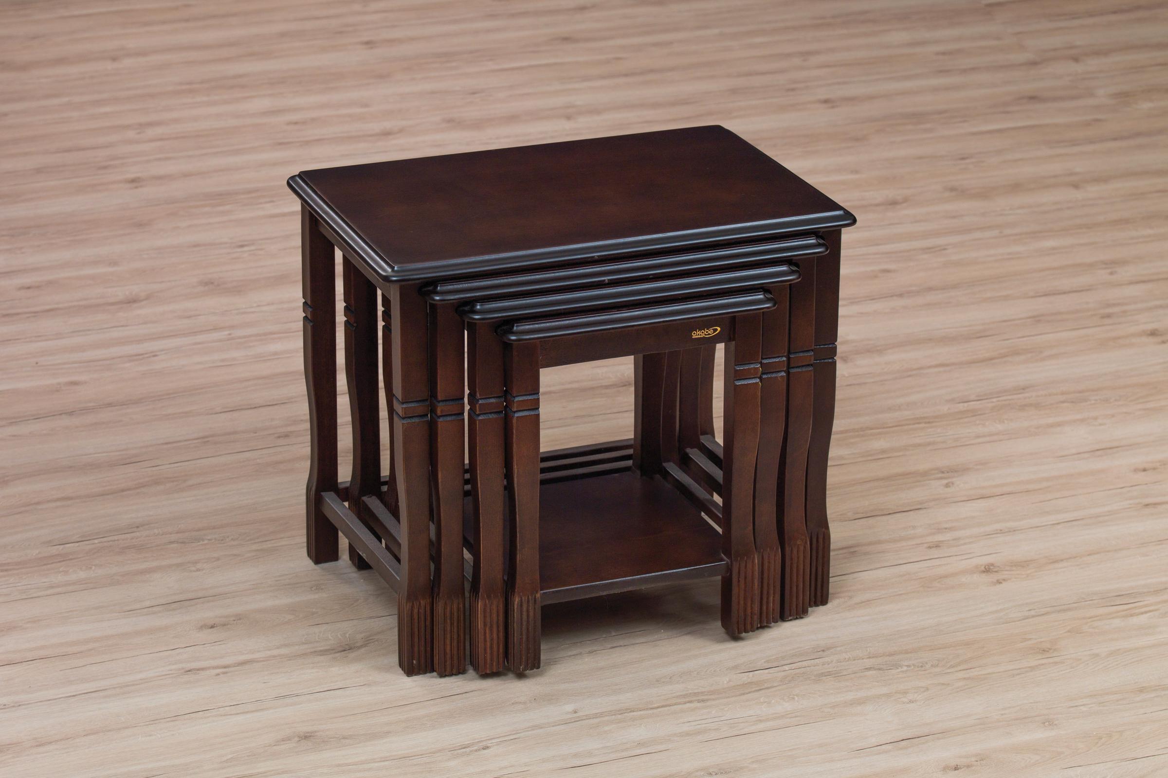 113 COFFE TABLE SET 4 PART