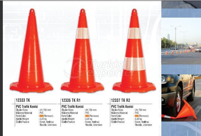 Warning Traffic Cones