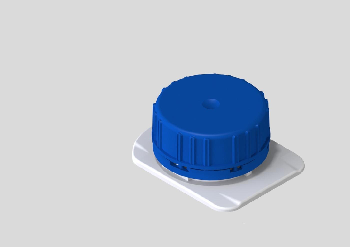 RoundCap 23 Aseptic cap