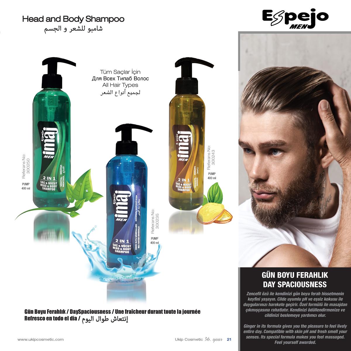 Head and body shampoo Espejo