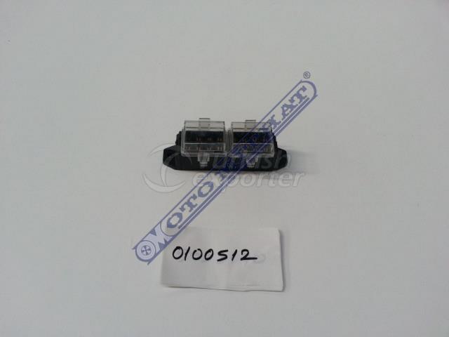 Caja de fusibles 8pcs - 0100512