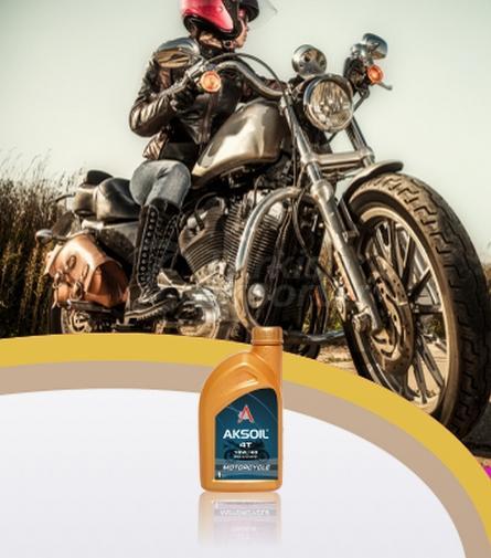 Motorcycle Oils Aksoil