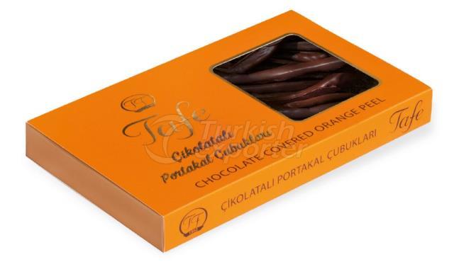 Chocolate Covered Orange Peel 862