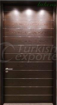 Veneered Wooden Door LK 102