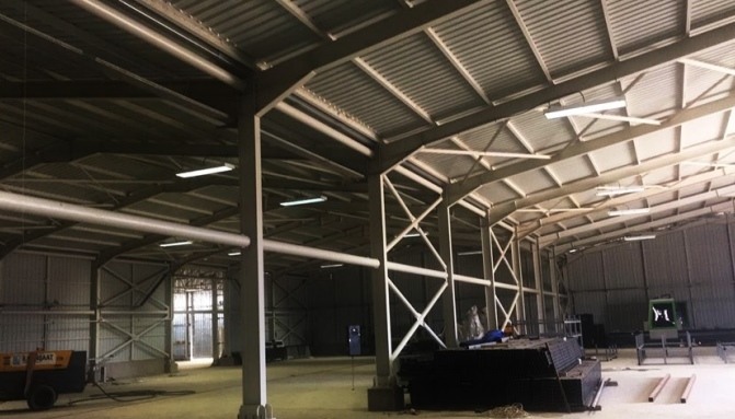 Structural Steel Buildings Azerbaijan Project