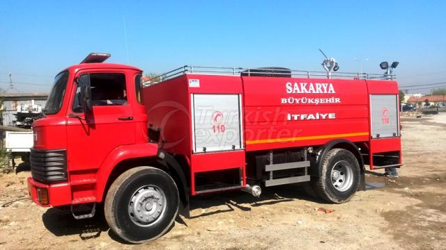 Camions d'eau