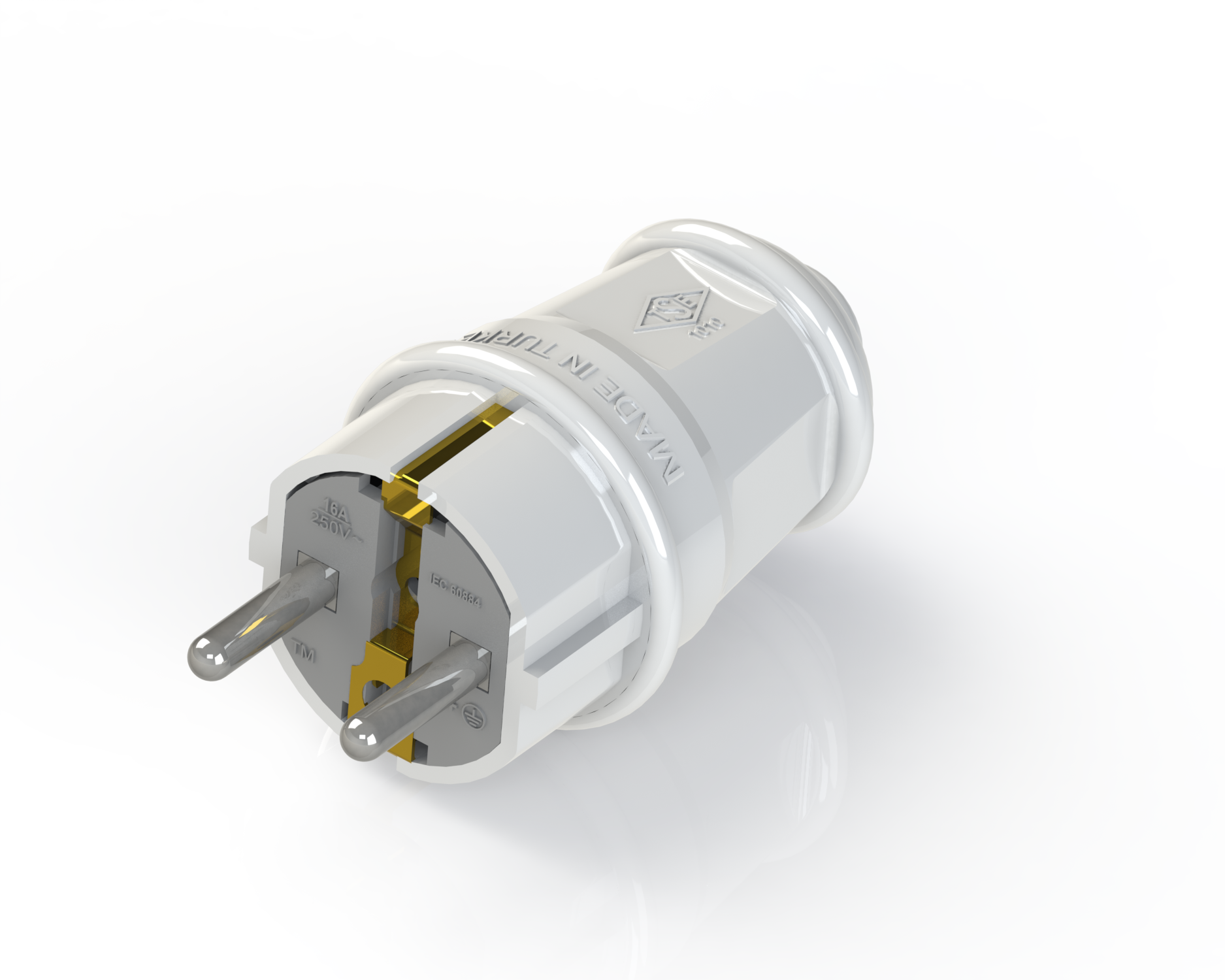 Earthed Plug / 1010-UPS