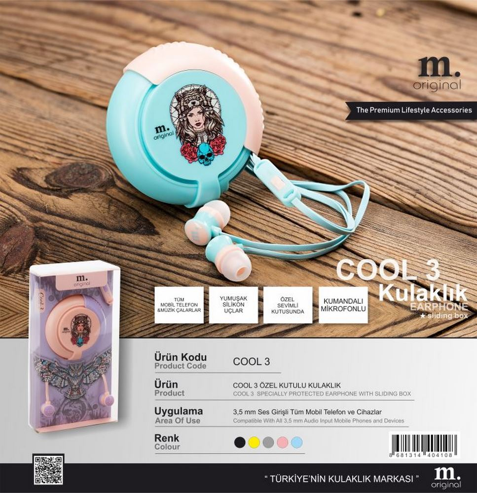 Cool 3 Headphones