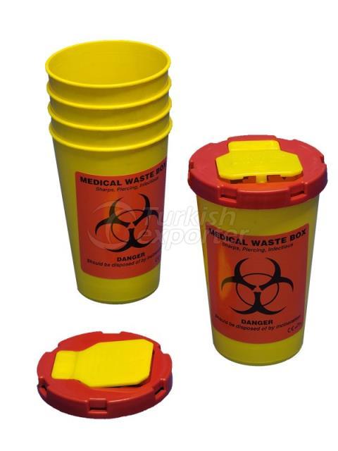 Ведро для мед.отходов(1л.)