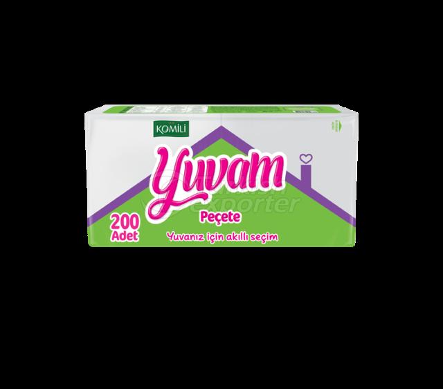 Komili Yuvam Napkin 200 pcs