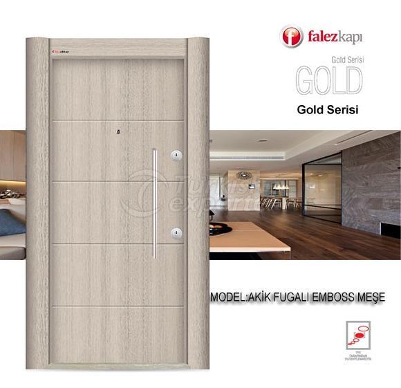 Steel Door Akik Fugali Emboss Mese