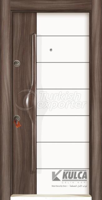 D-2006 ( PVC STEEL DOOR )