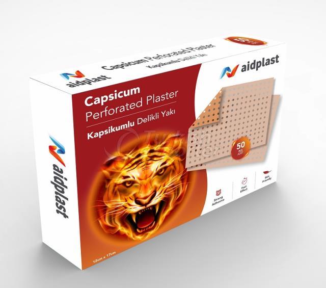 CAPSICUM PLÂTRE PERFORÉE 12x17